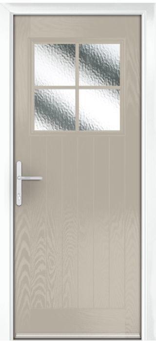 Composite Door - Birch - Rural Collection - Clay