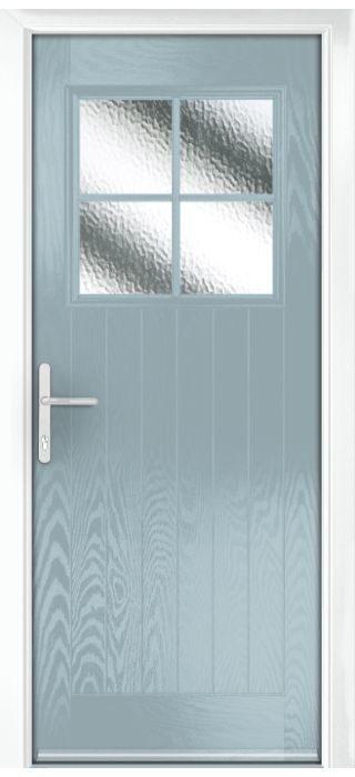 Composite Door - Birch - Rural Collection - Wedgewood