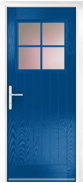 Composite Door - Birch - Rural Collection - French Blue
