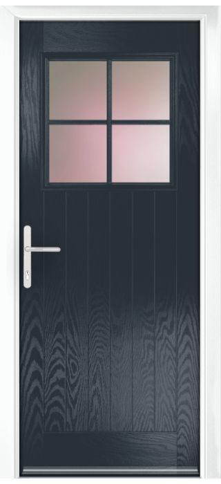 Composite Door - Birch - Rural Collection - Anthracite Grey