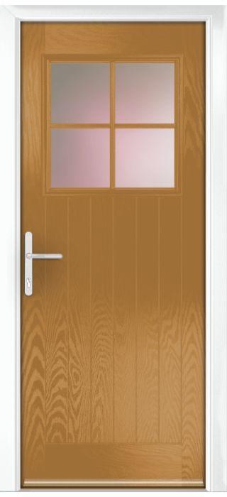 Composite Door - Birch - Rural Collection - Irish Oak