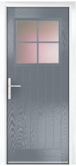 Composite Door - Birch - Rural Collection - Shadow Grey