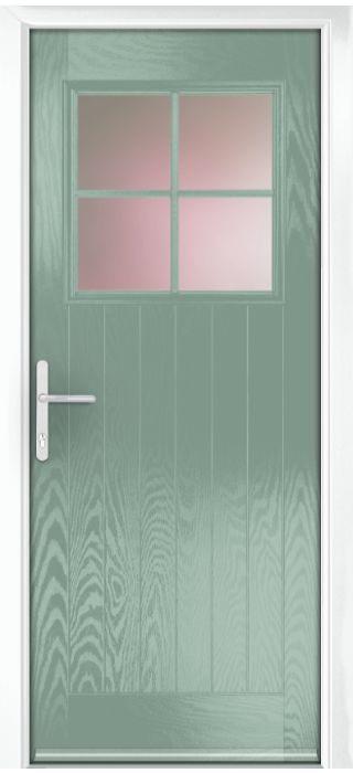 Composite Door - Birch - Rural Collection - Chartwell Green