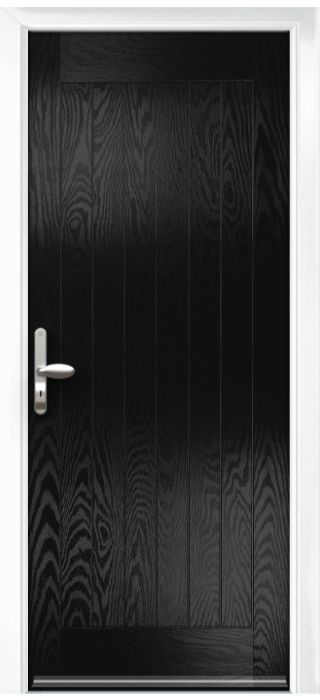 Composite Door - Aspen - Rural Collection - Black