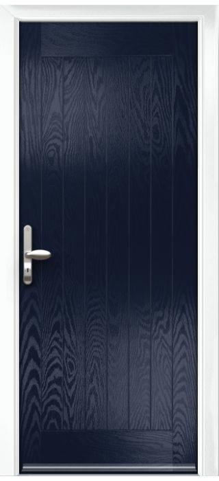Composite Door - Aspen - Rural Collection - Blue