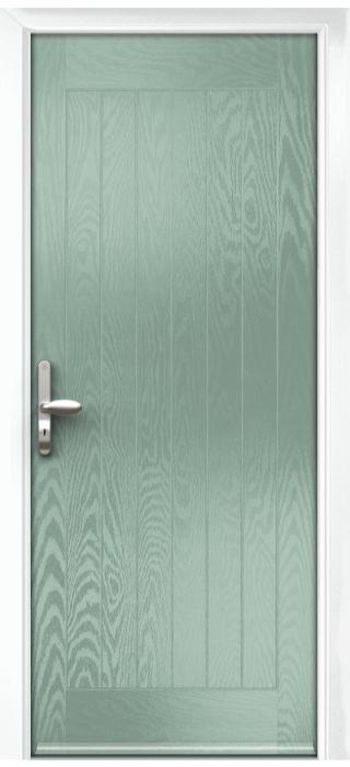 Composite Door - Aspen - Rural Collection - Chartwell Green