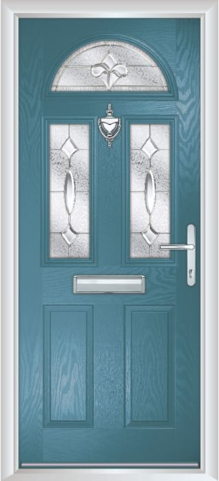 Composite Door - Chillingham - Classic Collection - Victory Blue