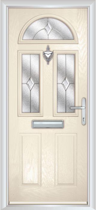 Composite Door - Chillingham - Classic Collection - Cream White