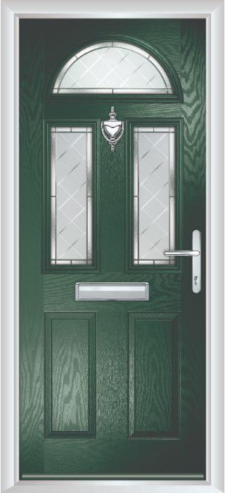 Composite Door - Chillingham - Classic Collection - Green