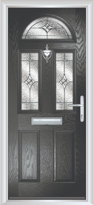 Composite Door - Chillingham - Classic Collection - Black