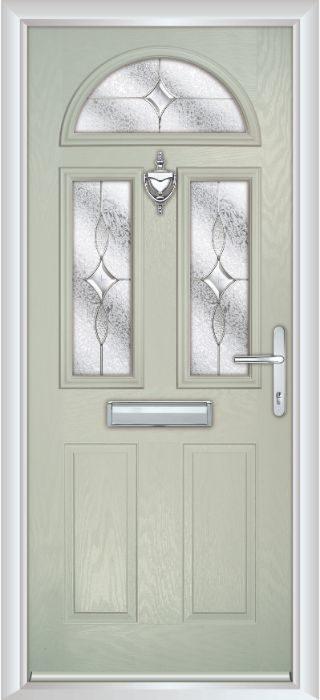 Composite Door - Chillingham - Classic Collection - Clay