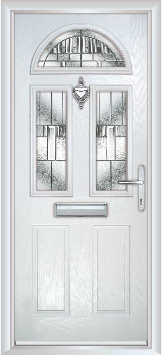 Composite Door - Chillingham - Classic Collection - White