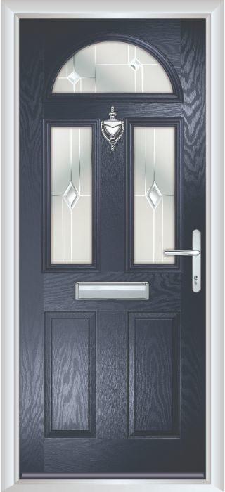 Composite Door - Chillingham - Classic Collection - Blue