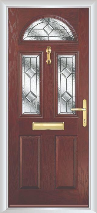 Composite Door - Chillingham - Classic Collection - Rosewood