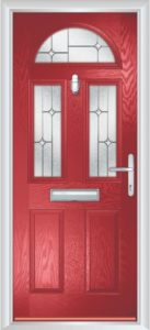 Composite Door - Chillingham - Classic Collection - Red