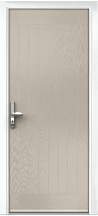 Composite Door - Aspen - Rural Collection - Clay