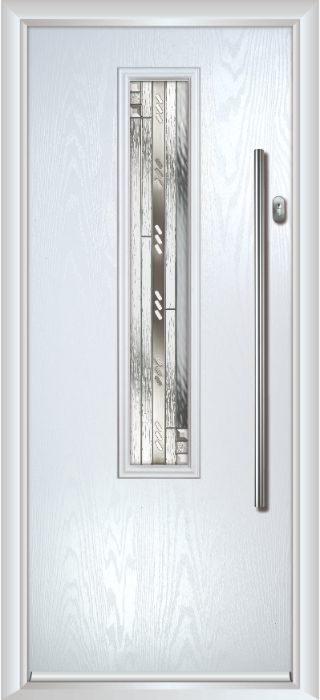 Composite Door - Cullen - Contemporary Collection - White
