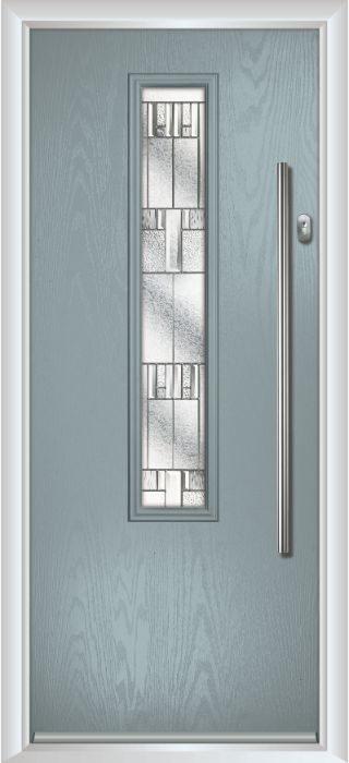 Composite Door - Cullen - Contemporary Collection - Silver Grey