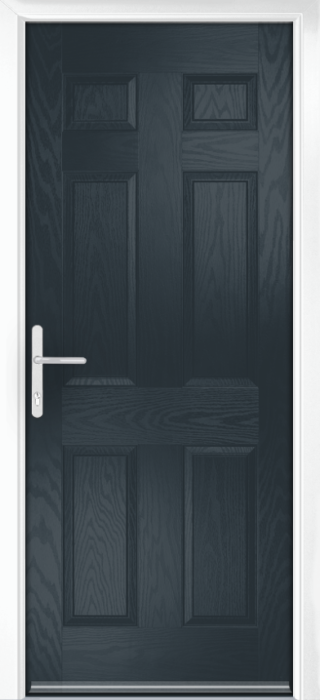 Composite Door - Cuthbert - Classic Collection - Anthracite Grey