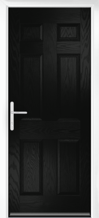 Composite Door - Cuthbert - Classic Collection - Black