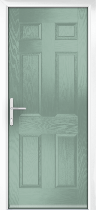 Composite Door - Cuthbert - Classic Collection - Chartwell Green