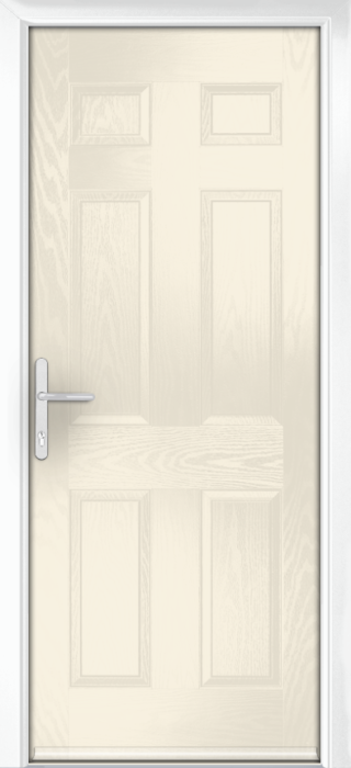 Composite Door - Cuthbert - Classic Collection - Cream White