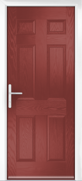 Composite Door - Cuthbert - Classic Collection - Marsala