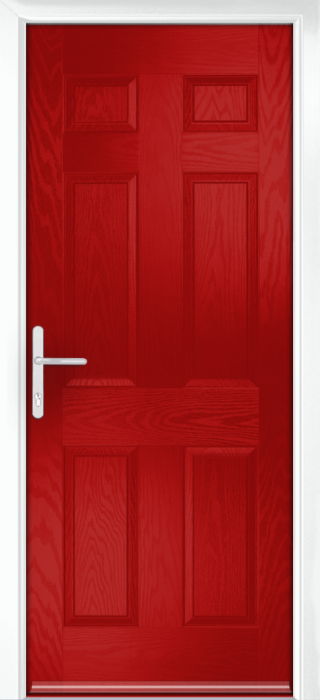 Composite Door - Cuthbert - Classic Collection - Red
