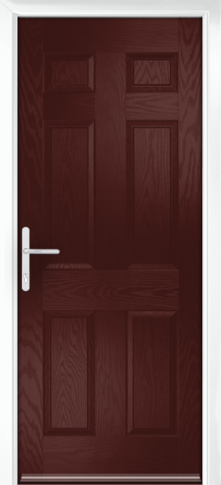 Composite Door - Cuthbert - Classic Collection - Rosewood