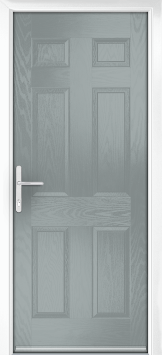 Composite Door - Cuthbert - Classic Collection - Silver Grey