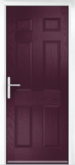Composite Door - Cuthbert - Classic Collection - Very Berry