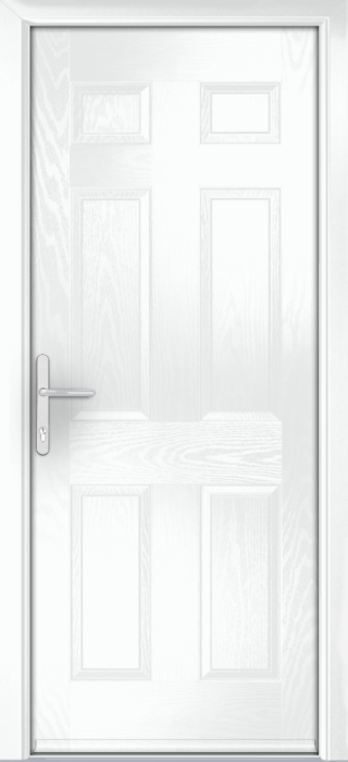 Composite Door - Cuthbert - Classic Collection - White