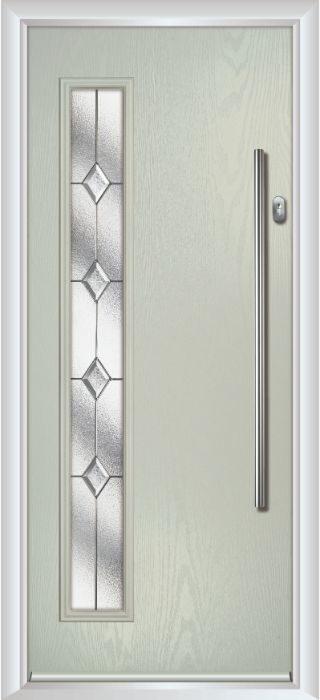Composite Door - Davy - Contemporary Collection - Clay