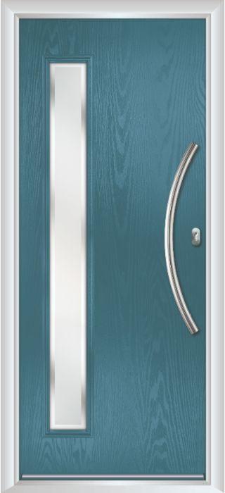 Composite Door - Davy - Contemporary Collection - Victory Blue