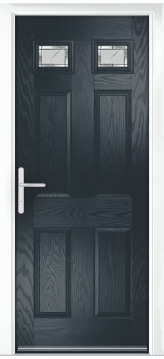 Composite Door - Alnwick - Classic Collection - Anthracite Grey
