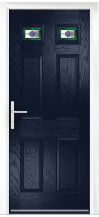 Composite Door - Alnwick - Classic Collection - Blue