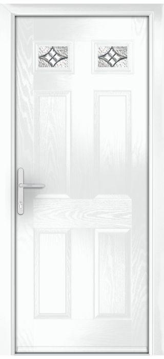 Composite Door - Alnwick - Classic Collection - White