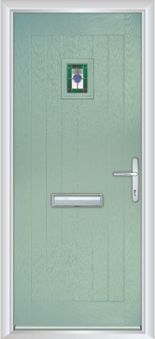 Composite Door - Elm - Rural Collection - Chartwell Green