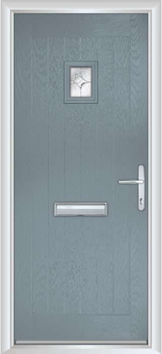 Composite Door - Elm - Rural Collection - Shadow Grey
