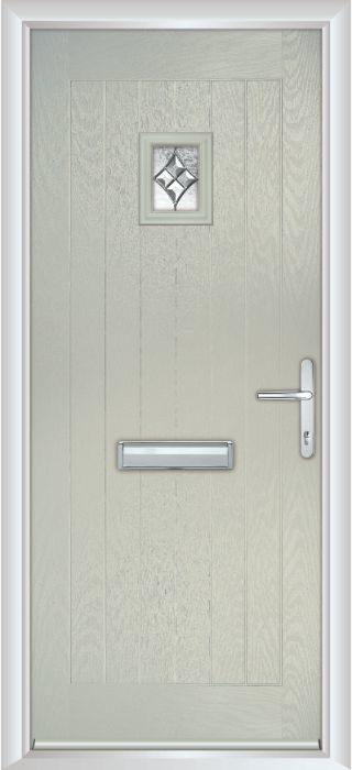 Composite Door - Elm - Rural Collection - Clay