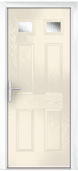 Composite Door - Alnwick - Classic Collection - Cream White