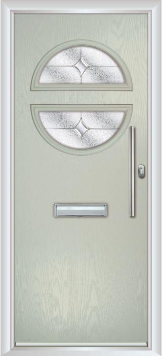 Composite Door - Franklin - Contemporary Collection - Clay