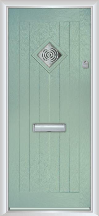 Composite Door - Hornbeam 1 - Rural Collection - Chartwell Green