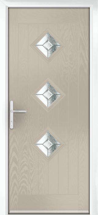 Composite Door - Hornbeam 3 - Rural Collection - Clay