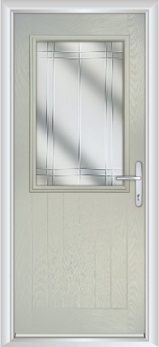 Composite Door - Larch - Rural Collection - Clay