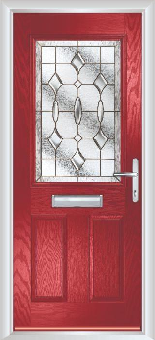 Composite Door - Lindisfarne - Classic Collection - Red
