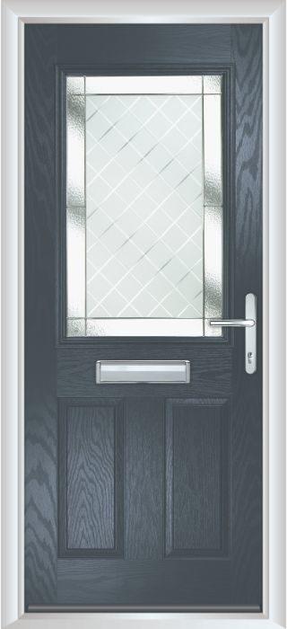 Composite Door - Lindisfarne - Classic Collection - Anthracite Grey