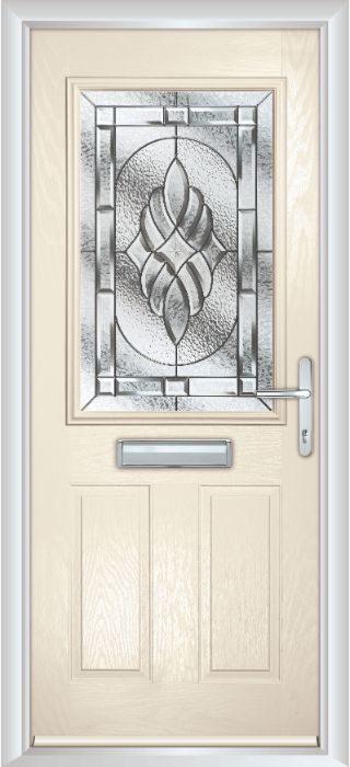 Composite Door - Lindisfarne - Classic Collection - Cream White