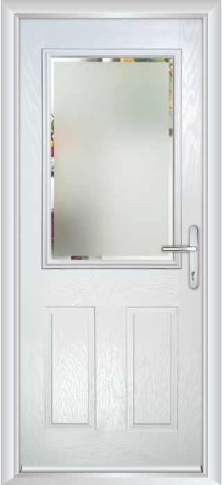 Composite Door - Lindisfarne - Classic Collection - White