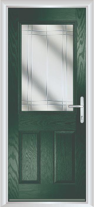 Composite Door - Lindisfarne - Classic Collection - Green